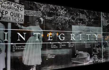 Rockford Memorial Hospital Integrity Signage